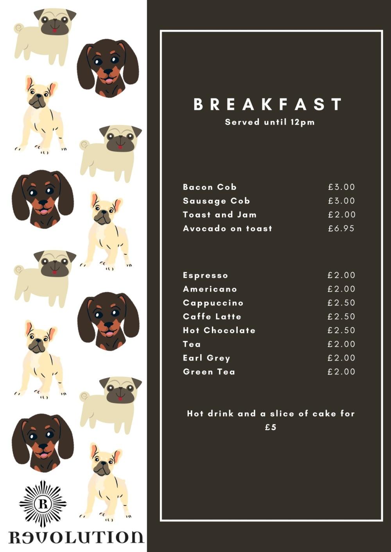 Doggy Daycare Menu copy