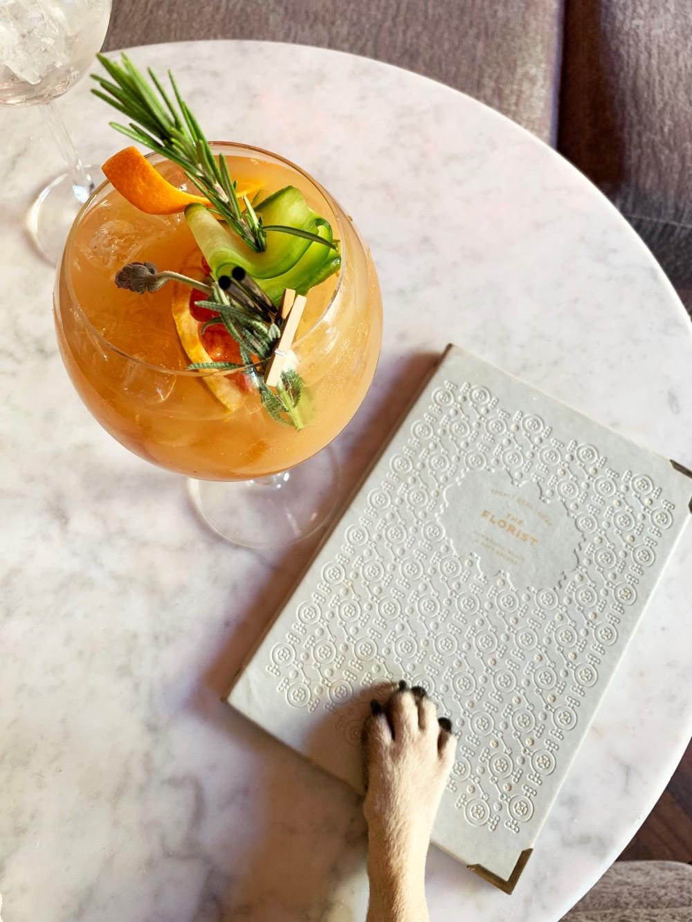 paw cocktail pug cafe bristol florist