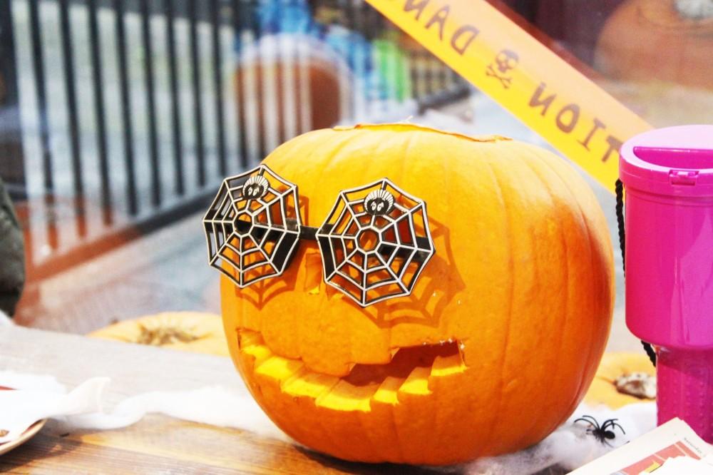halloween pug cafe nottingham pumpkin